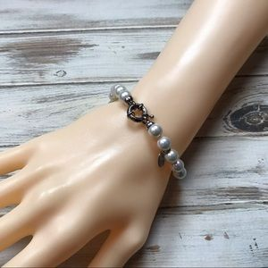 Joia de Majorca made made knotted pearl bracelet